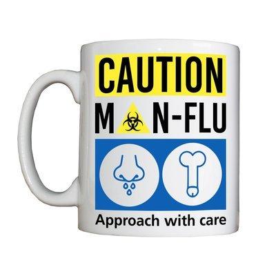 Personalised 'Man-Flu' Drinking Vessel