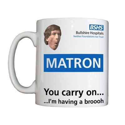 Personalised 'Matron' Drinking Vessel