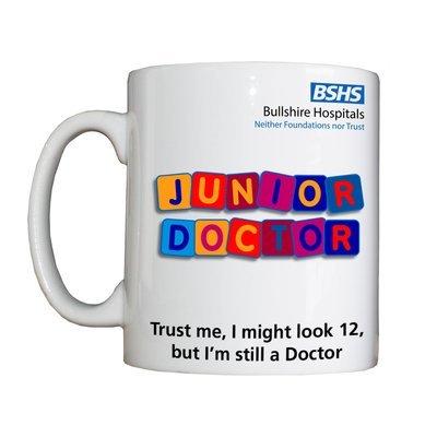 Personalised 'Junior Doctor' Drinking Vessel