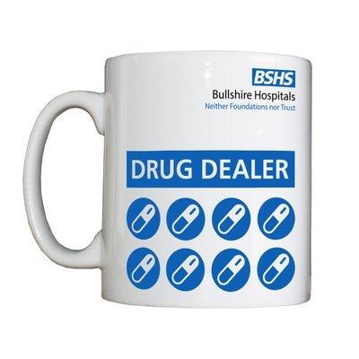 Personalised 'Drug Dealer' Drinking Vessel