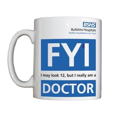 Personalised 'FY1 Doctor' Drinking Vessel