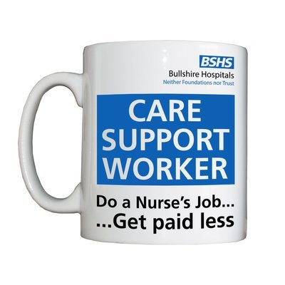 Personalised 'Care Support Worker' Drinking Vessel