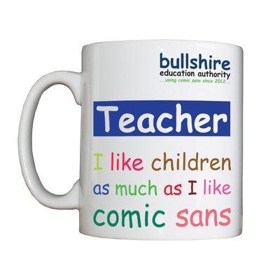 Personalised 'Teacher' Drinking Vessel