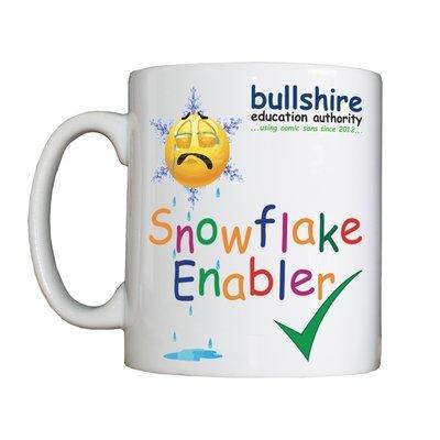 Personalised 'Snowflake Enabler' Drinking Vessel