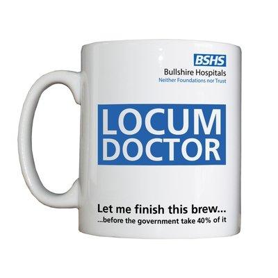 Personalised 'Locum Doctor' Drinking Vessel