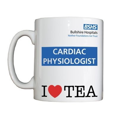 Personalised 'Cardiac Physiologist' Drinking Vessel