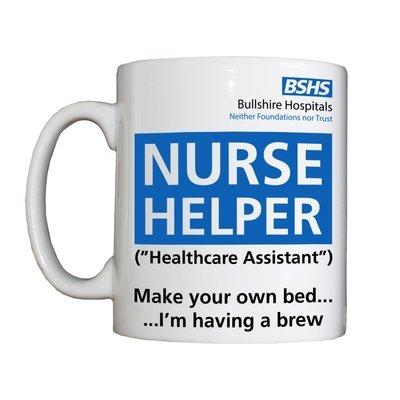 Personalised 'Nurse Helper' Drinking Vessel