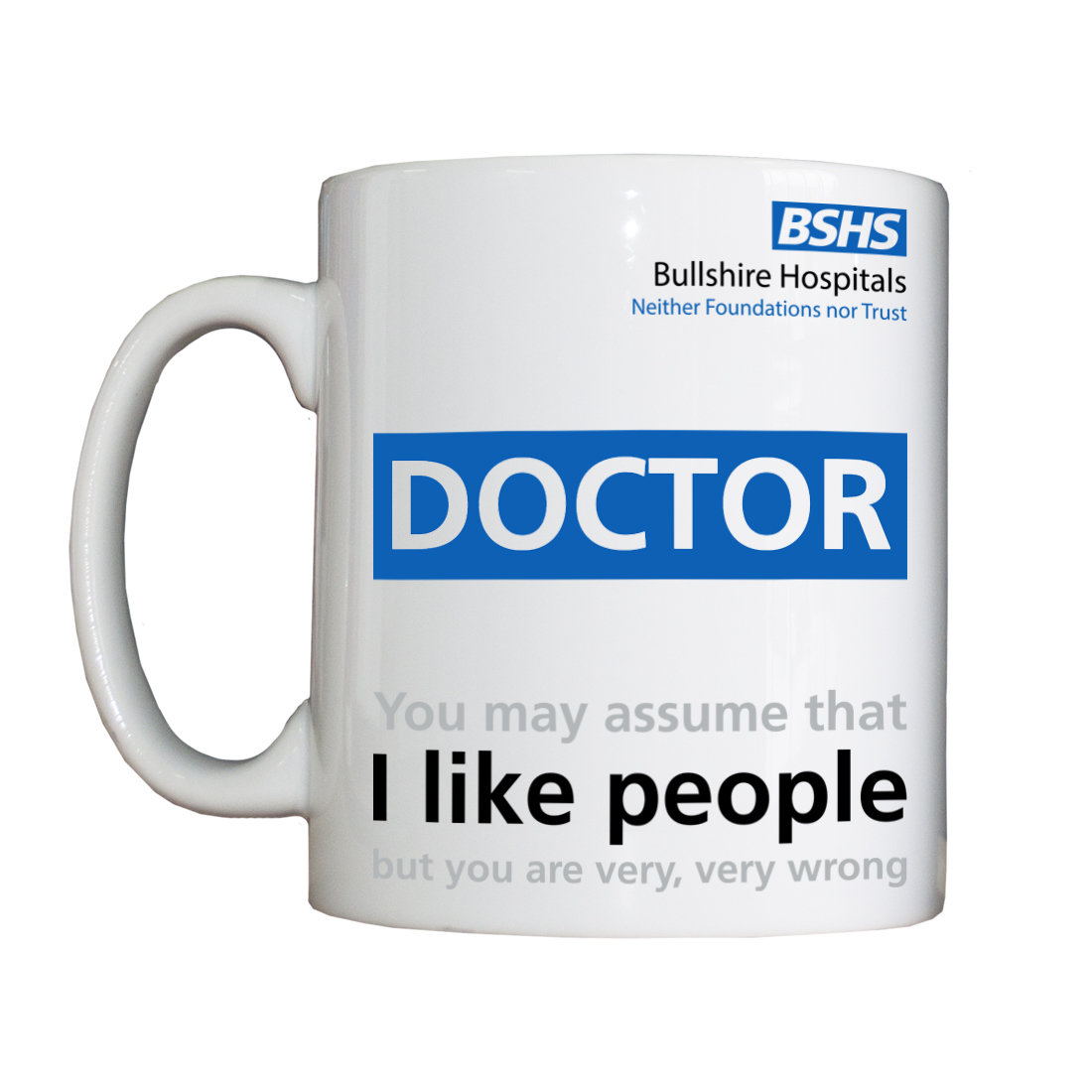 Personalised 'Non-People-Liking Doctor' Drinking Vessel