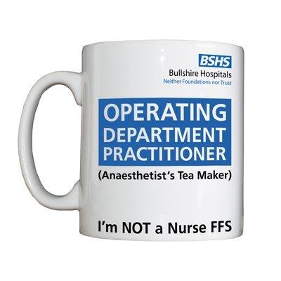 Personalised 'Anaesthetist's Tea Maker' Drinking Vessel