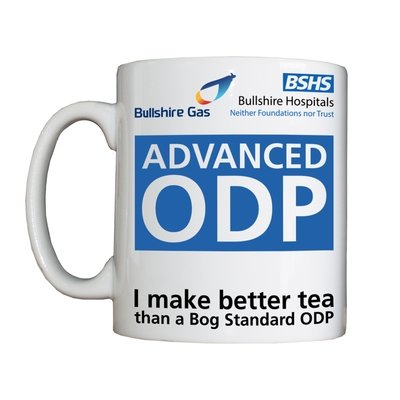Personalised 'Advanced ODP' Drinking Vessel