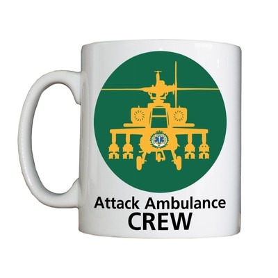 Personalised 'Attack Ambulance Crew' Drinking Vessel