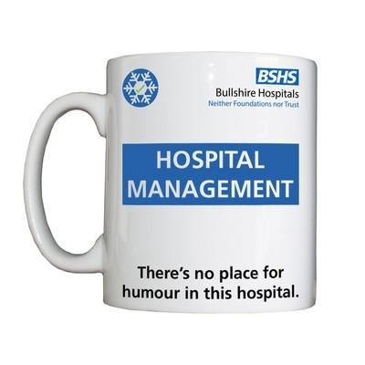 Personalised 'Hospital Management' Drinking Vessel