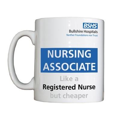 Personalised 'Nursing Associate' Drinking Vessel
