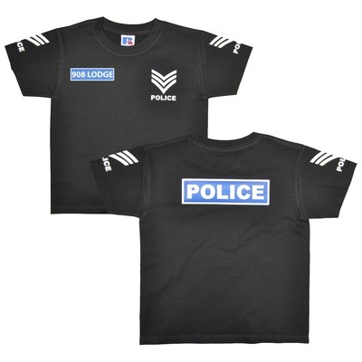 Personalised Children's 'Police Sergeant' T-Shirt