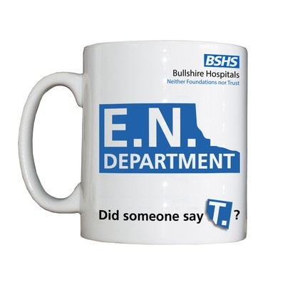 Personalised 'ENT Department' Drinking Vessel