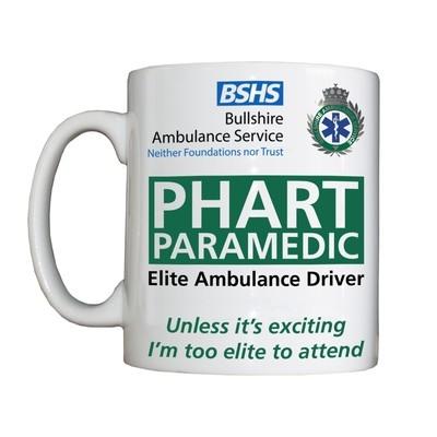 Personalised 'PHART Paramedic' Drinking Vessel