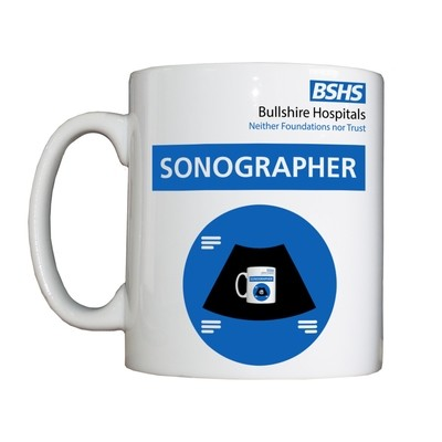 Personalised 'Sonographer' Drinking Vessel