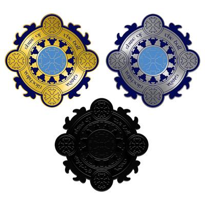 'Garda Bullshire' Pin Badge Triple Pack