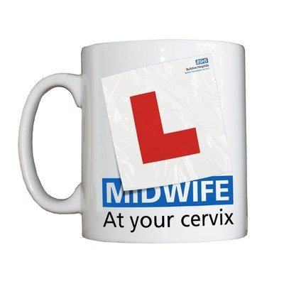 Personalised 'Student Midwife' Drinking Vessel