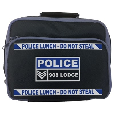 Personalised 'Police Lunch - Do Not Steal' Lunch Bag