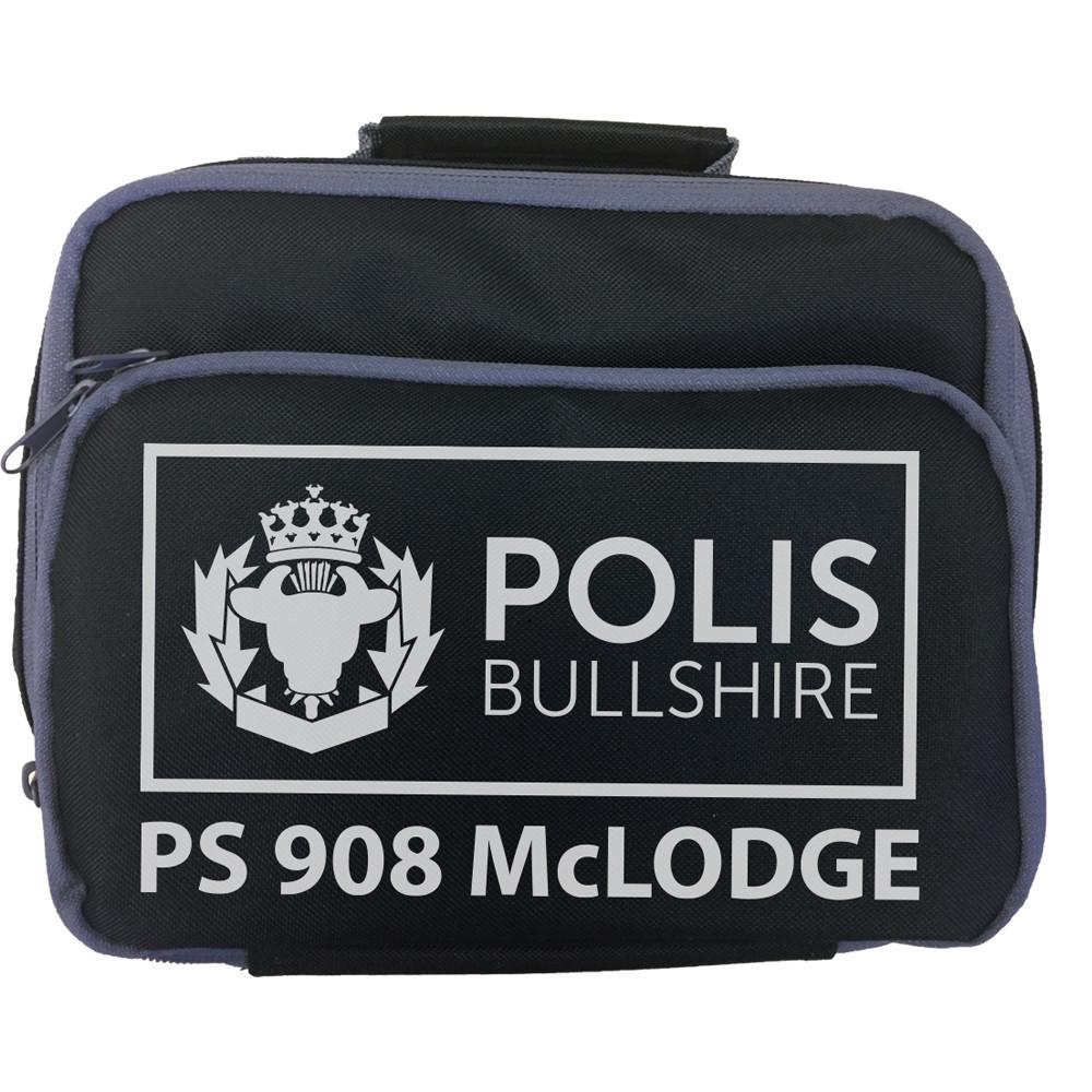 Personalised 'Polis Bullshire' Lunch Bag