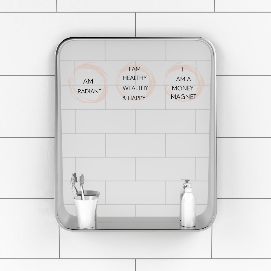 Affirmation Sticker For Shower Or Mirror