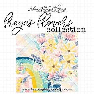 LAUREN PHELPS DESIGNS | FREYA'S FLOWERS COLLECTION | WASHI