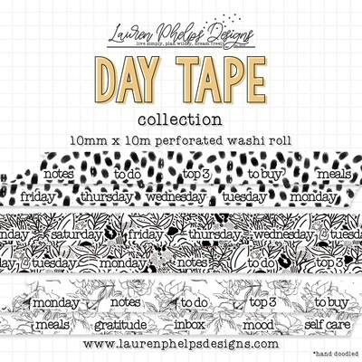 LAUREN PHELPS DESIGNS | TAB TAPE | DAY TAPE