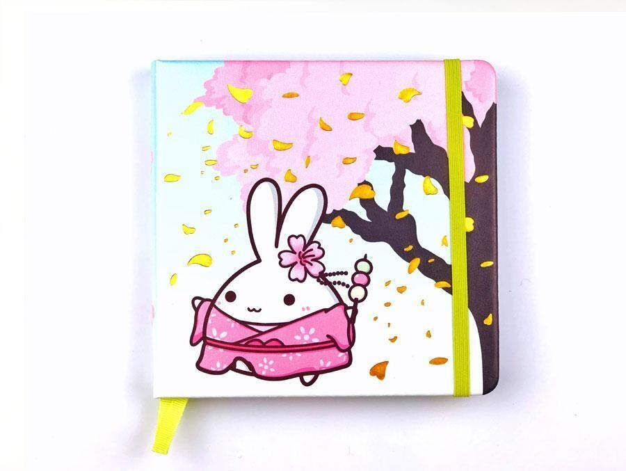 SumlilThings | Sakura Collection | Lil' Sakura Square Notebook (Grid)