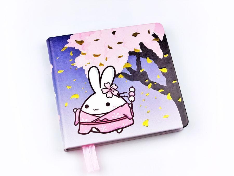 SumlilThings   Sakura Collection   Lil' Sakura Square Notebook (Dotted)