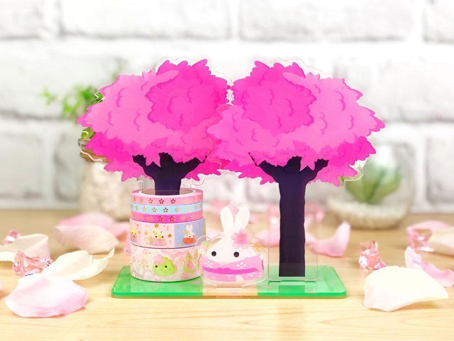 SumlilThings | Sakura Collection | Lil' Sakura Petals - Washi Tower™ (Dual Type)