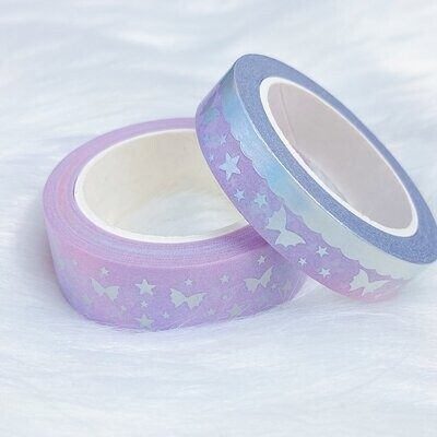THEHONEYBSHOP | Cotton Candy Specialty Bat Bow MAGIC | WASHI