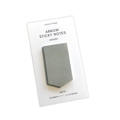 CLOTH & PAPER | ARROW STICKY NOTES