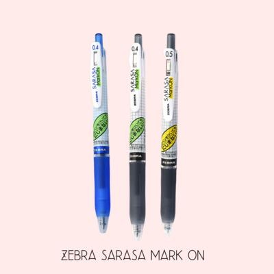 ZEBRA | Sarasa Mark ON