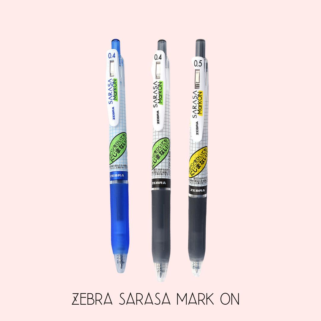 ZEBRA   Sarasa Mark ON