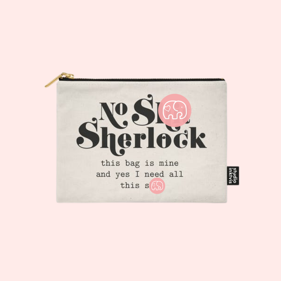 STUDIO INVIKTUS   NO SH*T SHERLOCK   POUCH