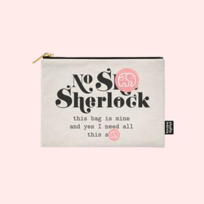 STUDIO INVIKTUS | NO SH*T SHERLOCK | POUCH