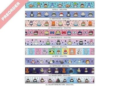 SumlilThings |  New Assorted Washi Tapes