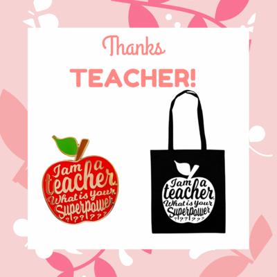 "TEACHER GIFT! - ""I'm a Teacher. What's your superpower?"""