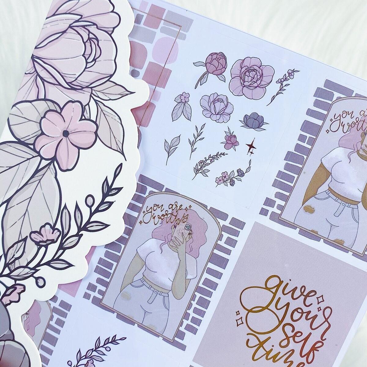 TheHoneyBShop   June Babe Box Extra   Sticker Book