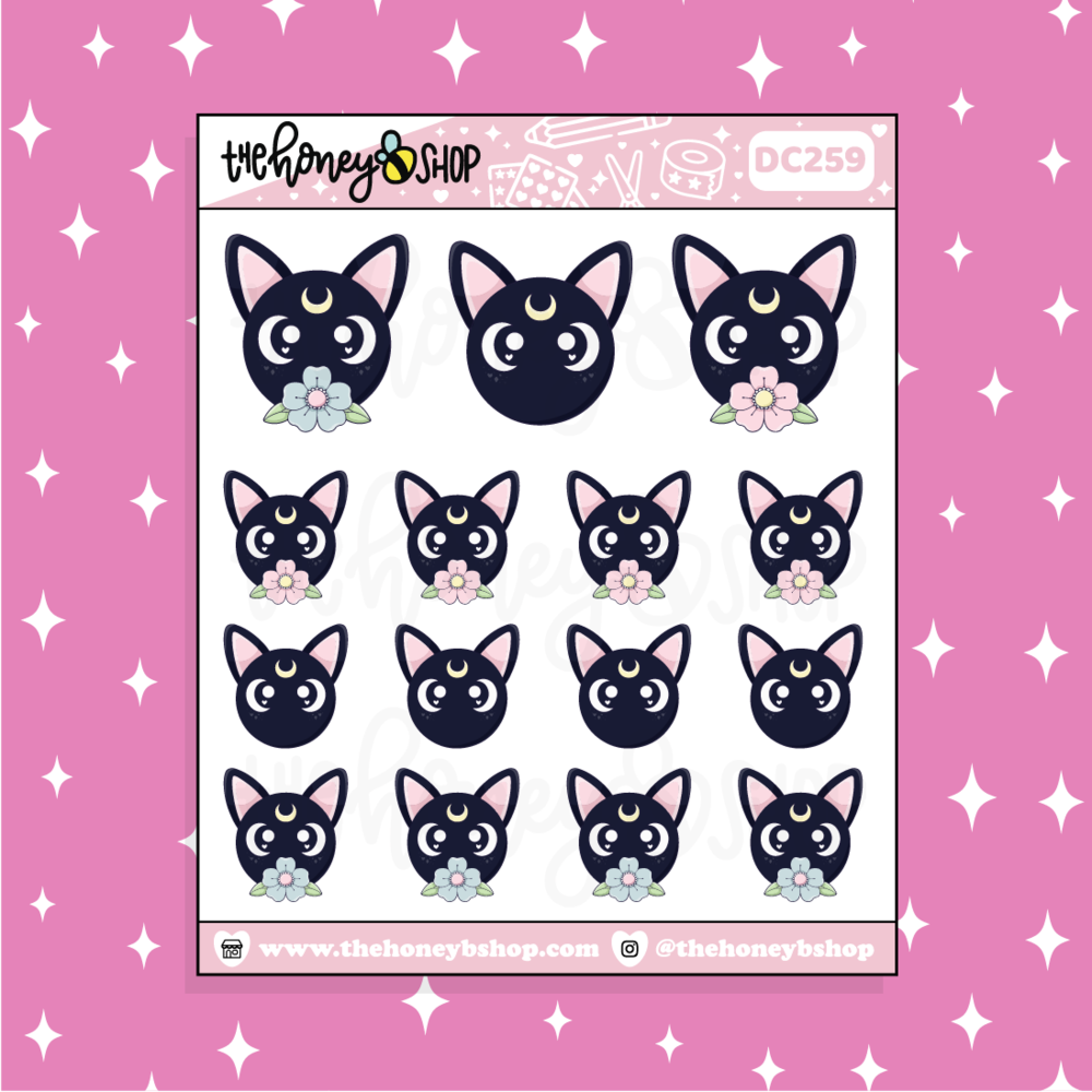 TheHoneyBShop | Fight Like a Girl |Magical Bows Doodle Sticker