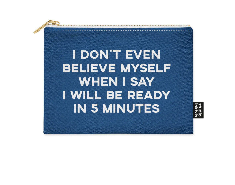 STUDIO INVIKTUS | I DONT BELIEVE MYSELF | POUCH