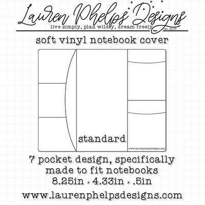 LAUREN PHELPS DESIGNS | VINYL NOTEBOOK COVER | STANDARD