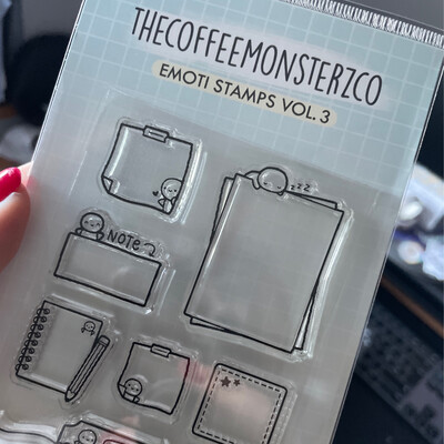 THECOFFEEMONSTERZCO | EMOTII STAMP SET | VOL. 3