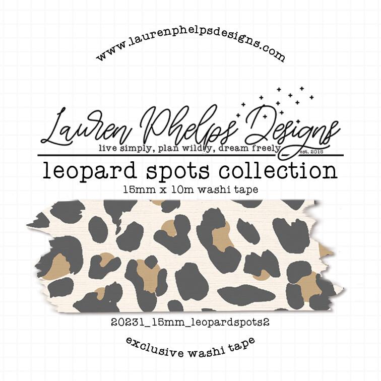 LAUREN PHELPS DESIGNS | LEOPARD SPOT WASHI