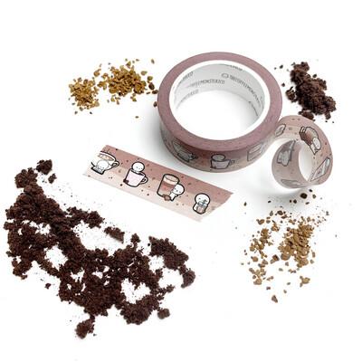 THECOFFEEMONSTERZCO | COFFEE TIME EMOTI | WASHI  15MM