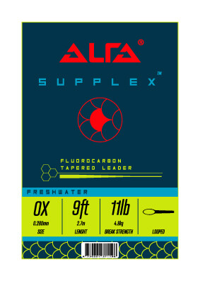 Alfa Supplex Fluorocarbon Leader