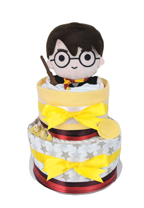 Two Tier Harry Potter Nappy Cake