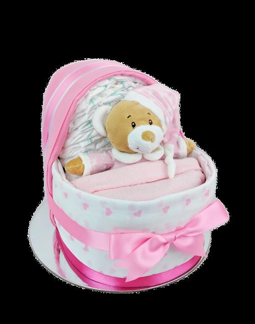 Baby Girl Nappy Crib