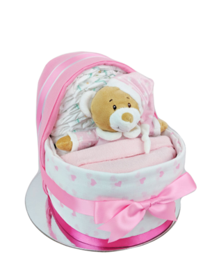 Baby Girl Nappy Crib